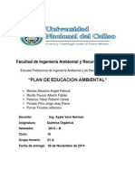 Plan de Eduacion Ambiental