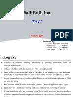 Mathsoft Group 1 BBM