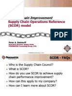 Supply Chain Improvement_Supply Chain Operations Reference (SCOR) model