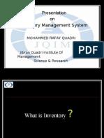 Inventory Presentation