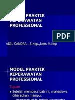 Model Praktik Keperawatan Professional