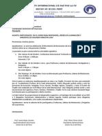 Carta Curso Segundo Semestre 2014 Rcp Huancayo