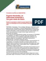 com0990 081206 Eugenio Hernández, un gobernante humanista y con gran visión de futuro