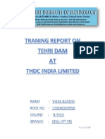 tehri dam project case study