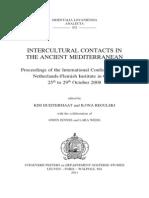 INTERCULTURAL CONTACTS IN THE ANCIENT MEDITERRANEAN.pdf