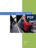 Value Set Notes