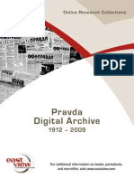 East View Pravda Digital Archive