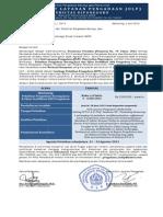 Surat Penawaran Periode 5 Tahun 2013