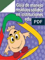 Guia de Manejo de Resíduos Sólidos en Intituciones Educativas