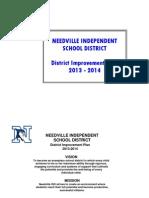 13-14 nisd district plan