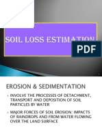 Soil Loss Estimation