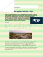 Portland Oregon Landscape Design
