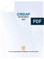 CIRDAP Annual Report 2013