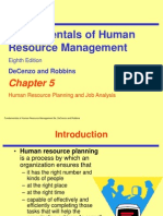 CH05-Robbins-8ehr Planning and Job Analysis