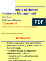 CH10 Robbins 8e Performance Mgmt