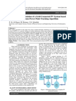 Modelling and Simulation of a Grid-Connected PV System based on Efficient Maximum Power Point Tracking Algorithm