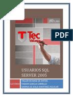 Usuarios SQL Server 2005