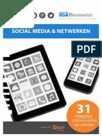 "ZZP Barometer - Themarapport ""Social Media en Netwerken"""
