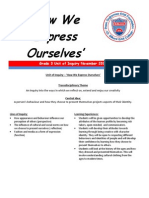 how we express ourselves newsletter english