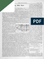Log-log Slide Rule