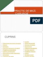 202805912 Manual de Chirurgie Incepatori