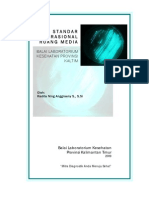 Standar Operasional Ruang Media Mikrobiologi