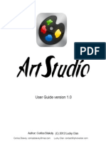 Artstudio Manual