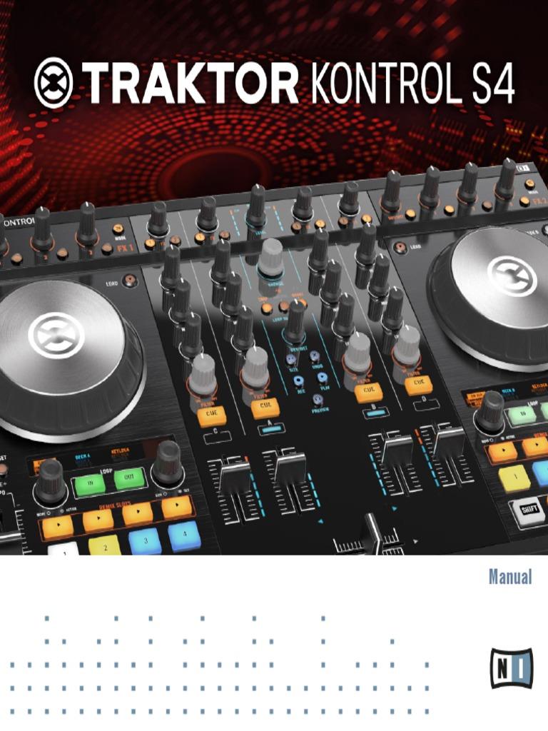 traktor kontrol s4 mk2 manual english i tunes disc jockey rh scribd com Traktor Kontrol S4 Odyssey Case for Traktor Kontrol Z2