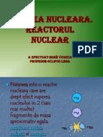 Fisiunea Nucleara Reactorul Nuclear