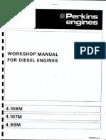 Manual Motor Perkins Maritimo 4108