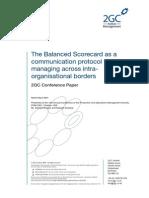 2GC BSC Development Report