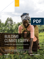 Building Climate Equity Report Summary