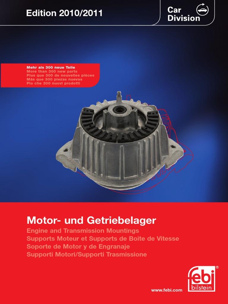 123 240 03 65 Engine T-Mount Febi Bilstein 04236