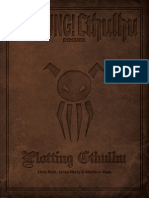 Achtung Cthulhu Dossier - Plotting Cthulhu - Printer Friendly v2