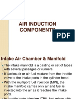 Topic 1.1.3 - Air Induction Systems Extra