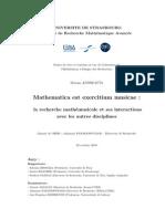 mathematica est exercitium musicae