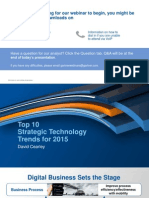 Gartner Top 10 Tech Trends