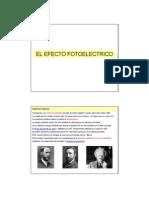 Efecto foteléctrico