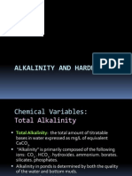 Alkalinity and Hardness