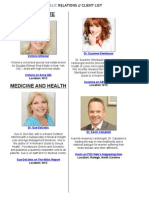 Pace Public Relations Client List