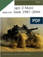 Osprey New Vanguard 112 Challenger 2 Main Battle Tank 1987-2006