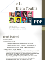 SSY2034 Sociology of Youth Chap 1