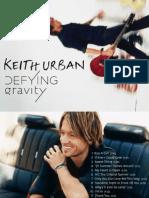 Digital Booklet - Defying Gravity