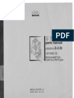 Heli parts manual Cpqd Cpcd 2-3,5 from 2003 to 2010