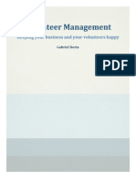 volunteer management- formal project tecm 2700