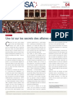 Bulletin du droit des secrets d'affaire