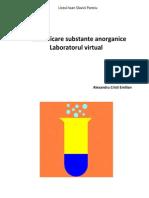 Identificare substante anorganice
