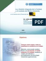 Psicologia aplicada a la Prevencion Riesgos Laborales