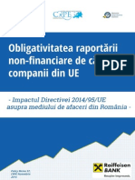 Policy Brief Directiva Privind Raportarea Non Financiara