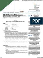 RPP 2013 Pendidikan Teknik bangunan ~ Pendidikan Teknik Bagunan